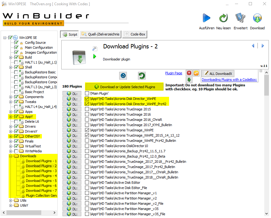step14 WindowsPE Builder Download ZusÑtze